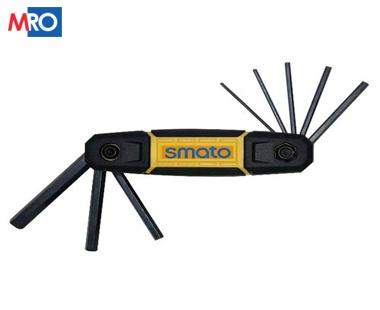 Bộ chìa lục giác đầu sao gấp SFHS-92 – Smato