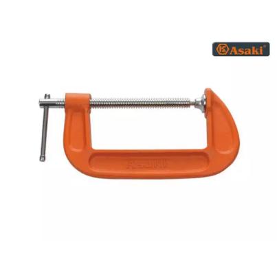 Cảo chữ C Asaki AK-6266 C2-8″ (Cam)