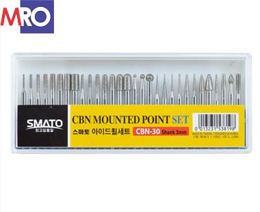 Bộ mũi mài CBN-30 chi tiết Smato